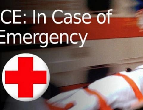 ICE: In case of Emergency