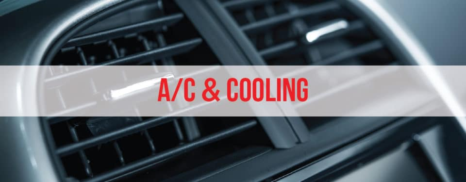 a/c & cooling